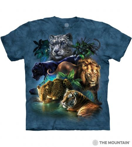 Big Jungle Cats T-shirt | The Mountain®